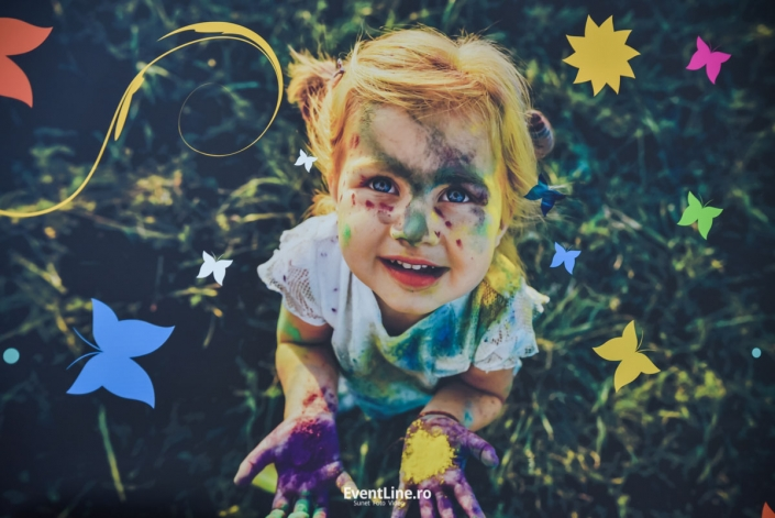 Fotografii evenimente, pictura pe fata.