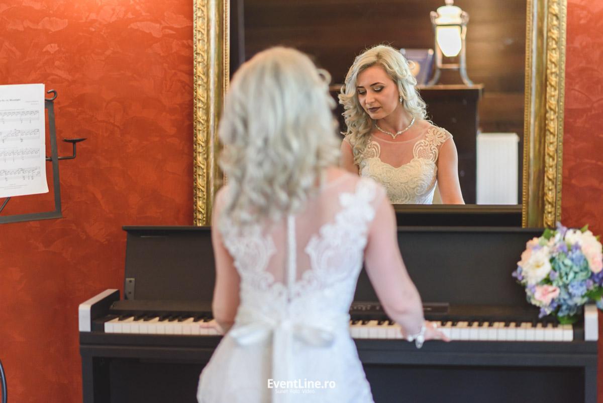 nunta mireasa la pian