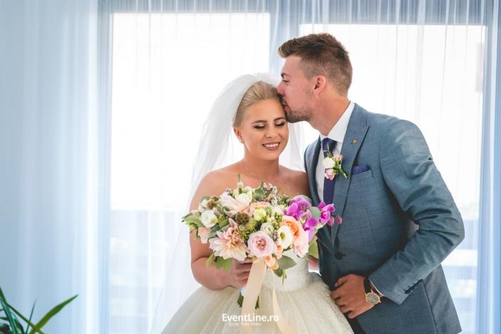 fotograf nunta, buchet mireasa